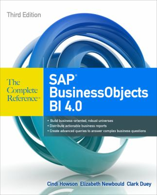 SAP BusinessObjects BI 4.0  3rd 2013 edition cover