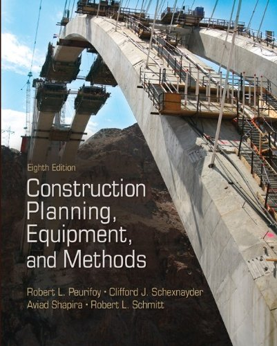 Construction Planning, Equipment, and Methods  8th 2011 edition cover