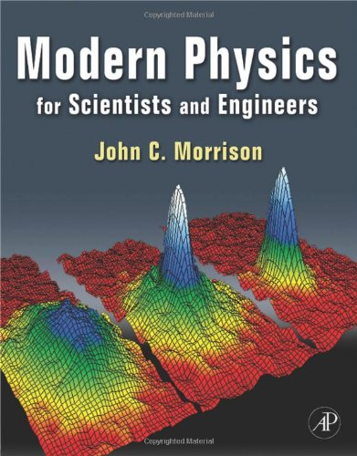 Modern Physics For Scientists and Engineers  2010 9780123751126 Front Cover