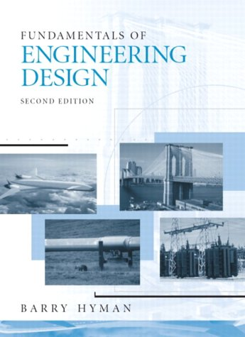 Fundamentals of Engineering Design  2nd 2003 edition cover