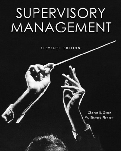 Supervisory Management  11th 2007 (Revised) edition cover