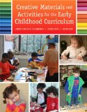 Creative Materials and Activities for the Early Childhood Curriculum   2015 edition cover