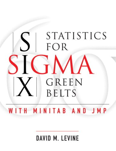 Statistics for Six Sigma Green Belts   2006 edition cover