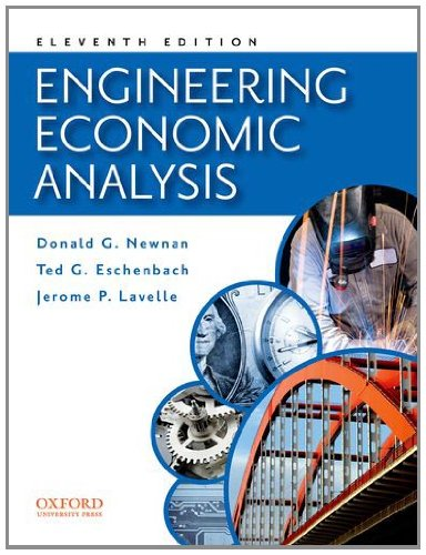 Engineering Economic Analysis  11th edition cover