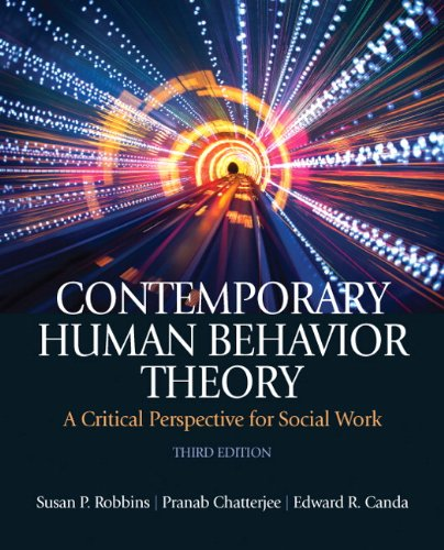 Contemporary Human Behavior Theory A Critical Perspective for Social Work 3rd 2012 (Revised) edition cover