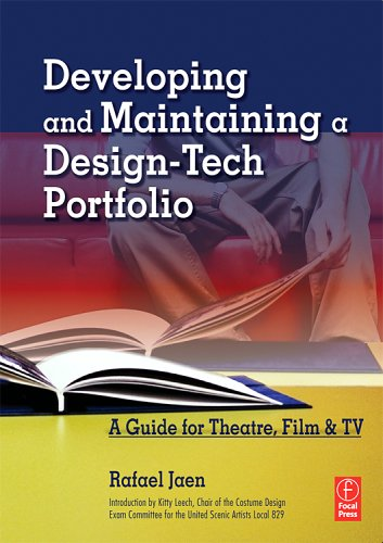Developing and Maintaining a Design-Tech Portfolio   2006 (Movie Tie-In) 9780240807126 Front Cover