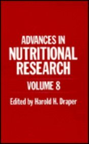 Advances in Nutritional Research   1990 9780306435126 Front Cover