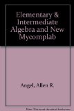 Elementary and Intermediate Algebra and NEW MyCompLab  4th 2011 edition cover
