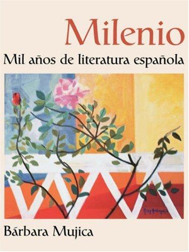 Milenio Mil Aos de Literatura Espaola  2002 edition cover