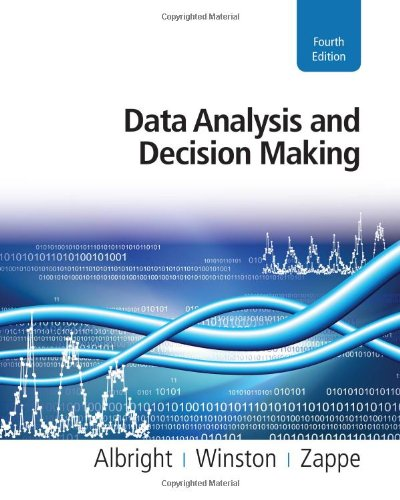 Data Analysis and Decision Making  4th 2011 9780538476126 Front Cover