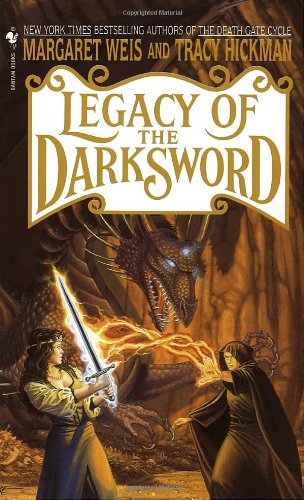 Legacy of the Darksword A Novel Reprint  9780553578126 Front Cover
