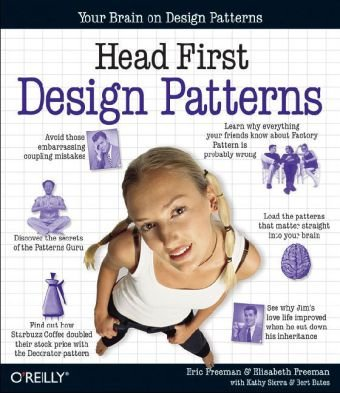 Head First Design Patterns   2004 9780596007126 Front Cover