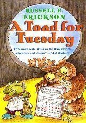 Toad for Tuesday  N/A 9780618062126 Front Cover