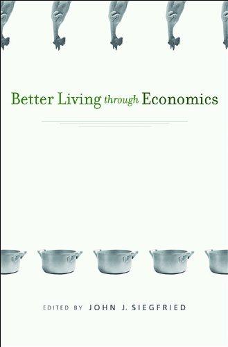 Better Living Through Economics   2010 edition cover