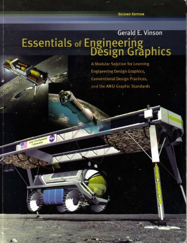 The Essentials of Engineering Design Graphics 2nd 2003 9780757505126 Front Cover