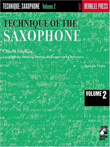 Technique of the Saxophone Chord Studies N/A edition cover