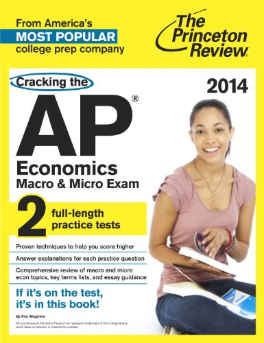 Cracking the AP Economics Macro and Micro Exams, 2014 Edition  N/A edition cover