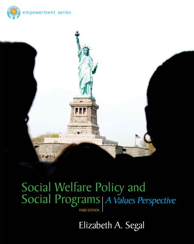Social Welfare Policy and Social Programs  3rd 2013 9780840029126 Front Cover