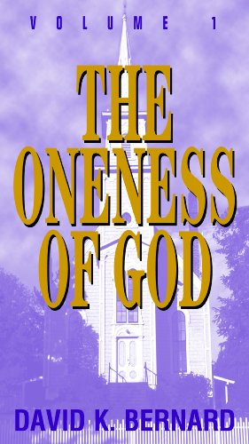 Oneness of God 2nd 2000 (Revised) edition cover