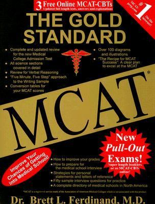 MCAT the Gold Standard  10th 2007 edition cover
