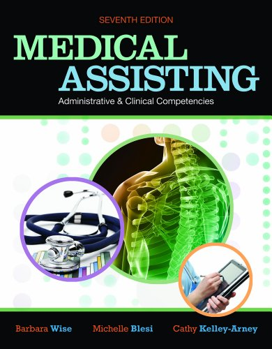 Medical Assisting Administrative and Clinical Competencies  7th 2012 edition cover