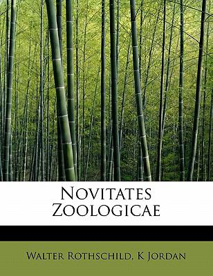 Novitates Zoologicae N/A 9781113850126 Front Cover