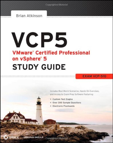 VCP5 VMware Certified Professional on Vsphere 5  2012 9781118181126 Front Cover