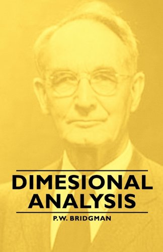 Dimesional Analysis:   2007 9781406763126 Front Cover