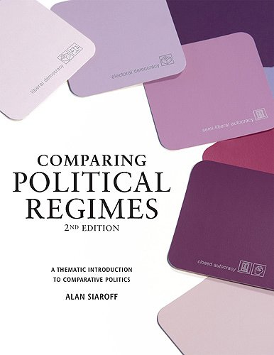 Comparing Political Regimes A Thematic Introduction to Comparative Politics 2nd 2008 (Revised) edition cover