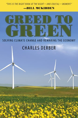 Greed to Green Solving Climate Change and Remaking the Economy  2013 edition cover
