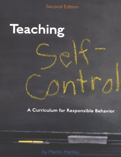 Teaching Self-Control A Curriculum for Responsible Behavior 2nd 2003 edition cover