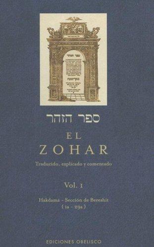 Zohar Traducido, Explicado y Comentado N/A edition cover