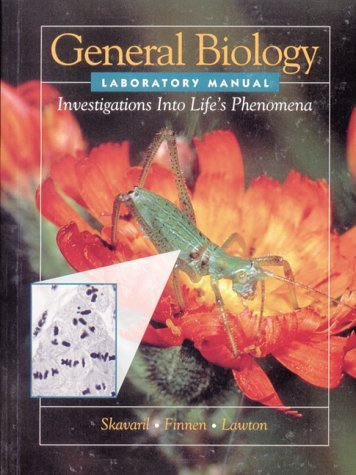 General Biology   1993 (Lab Manual) 9780030326127 Front Cover
