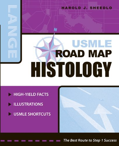 USMLE Road Map Histology   2005 9780071440127 Front Cover