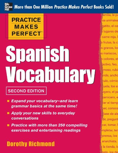 Spanish Vocabulary  2nd 2013 (Revised) edition cover