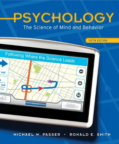 Psychology The Science of Mind and Behavior 5th 2011 edition cover