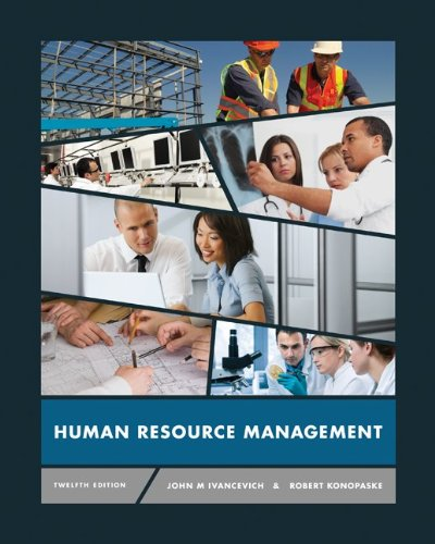 Human Resource Management  12th 2013 edition cover