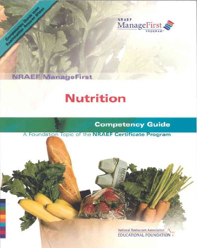 ManageFirst Nutrition with Pencil/Paper Exam and Test Prep  2007 9780135072127 Front Cover