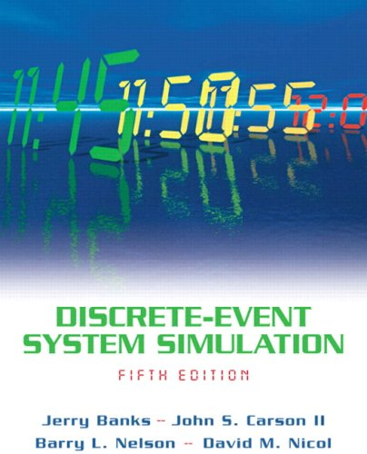 Discrete-Event System Simulation  5th 2010 (Revised) edition cover