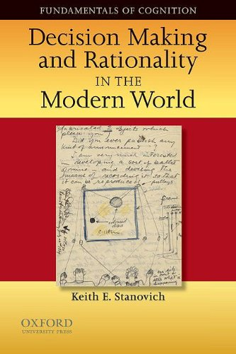 Decision Making and Rationality in the Modern World   2010 9780195328127 Front Cover
