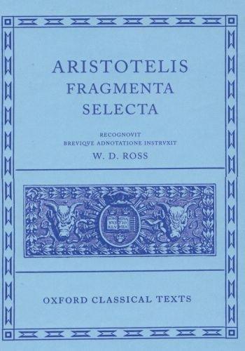 Fragmenta Selecta  N/A edition cover
