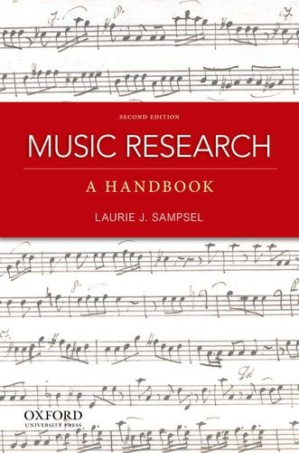 Music Research A Handbook 2nd 2012 edition cover