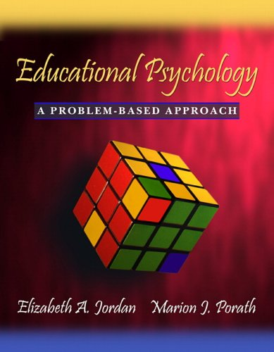 Educational Psychology A Problem-Based Approach  2006 edition cover