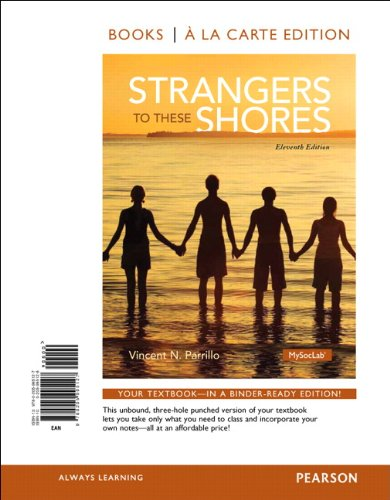 Strangers to These Shores, Books a la Carte Edition  11th 2014 edition cover