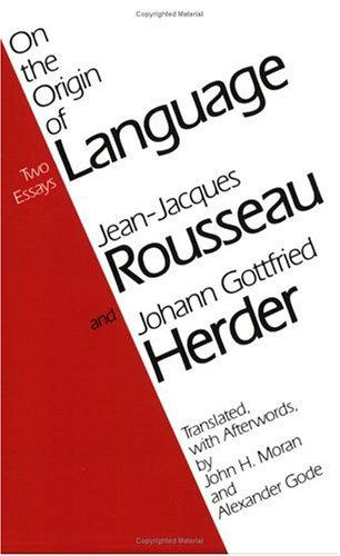 On the Origin of Language  Reprint  9780226730127 Front Cover