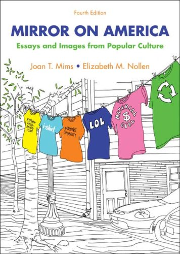 Mirror on America Essays and Images from Popular Culture 4th 2009 edition cover