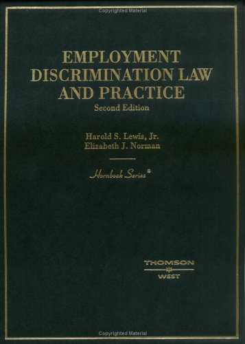 Employment Discrimination Law and Practice Hornbook  2nd 2004 (Revised) edition cover