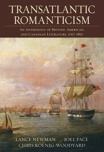 Transatlantic Romanticism An Anthology of British, American, and Canadian Literature, 1767-1867  2006 9780321217127 Front Cover