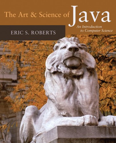 Art and Science of Java An Introduction to Computer Science  2008 edition cover