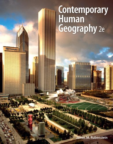Contemporary Human Geography  2nd 2013 (Revised) edition cover